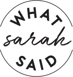 Whatsarahsaid 500